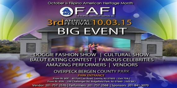 The Filipino American Festival Inc 3rd Annual Festival | Events