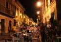 Food Streets at Night